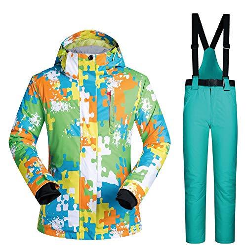 2 Ski Homme Épaissie Pantalon Imperméable F De Chaud Pour Ensemble qvnPB