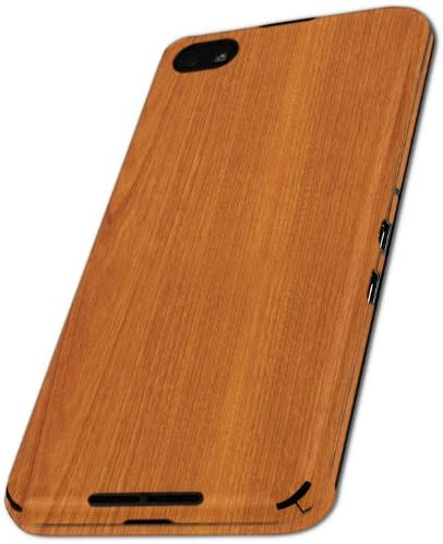 Skinomi Light Wood Full Body Skin Compatible with BlackBerry Z30 Full Coverage TechSkin with Anti-Bubble Clear Film Screen Protector