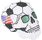 7'' USA SOCCER BALL SKULL HEADS, Case of 36