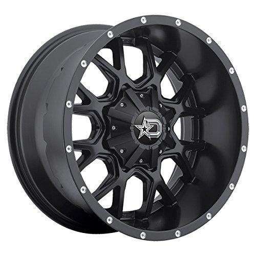 Dropstars 645B 20×12 5×139.7/5×150 -44mm Satin Black Wheel Rim
