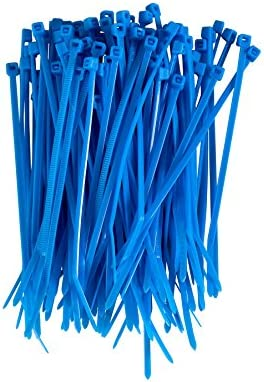 4.8mm X 300mm Azul Zip Cable Tie-Paquete de 100
