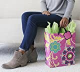 """Hallmark 13"""" Large Gift Bag with Tissue Paper"""