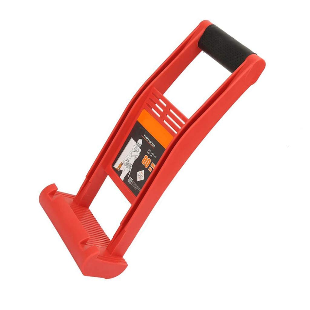 Lift Plywood Carrier, Premium Sheetrock Panel Gripper, Labor Saving Handling Handle for Construction Building Work and Sheet Goods Carry