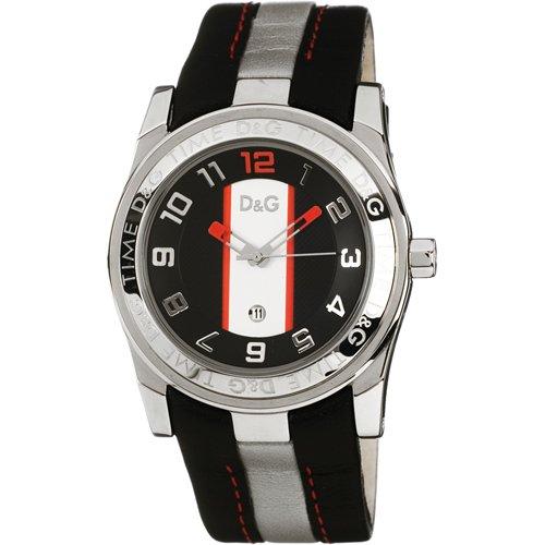 Dolce & Gabbana Dolce Gabbana - Reloj analógico Manual para Hombre con Correa de Piel,