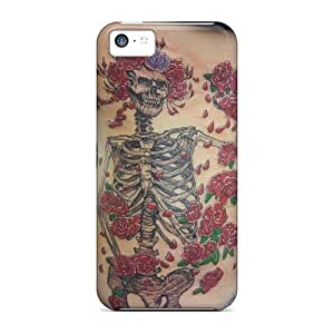 Iphone 5c KXg17979tjQi Customized Fashion Grateful Dead Image High Quality Hard Cell-phone Case -KaraPerron