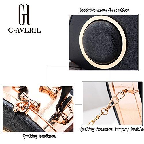 G-AVERIL - Bolso mochila  para mujer Gris gris azul