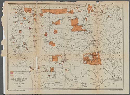 Vintography Reprinted 18 x 24 1884 Map of Washington The United States, Showing The Proposed Railroad Routes from Coast to Coast, with Table of Distances, etc. Government Printing Office 0 0 32a by Vintography