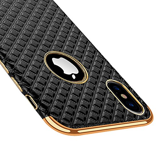 Image of Luxury iPhone x case Black xphone Slim for Apple iphonex