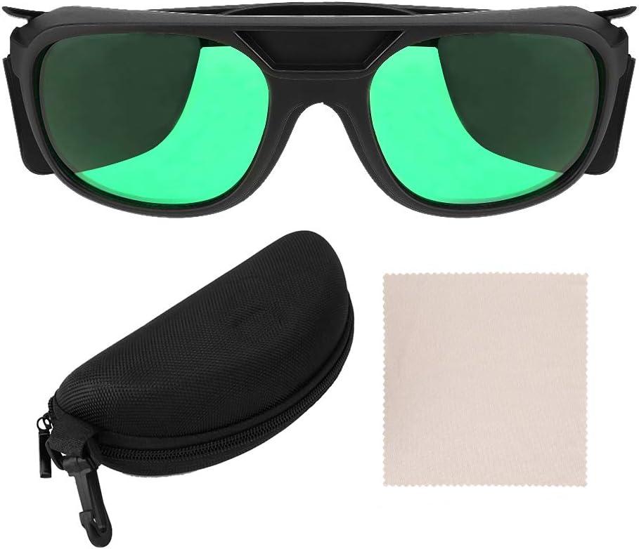Gafas de seguridad, Gafas de protección LED para sala de cultivo, Gafas de protección ocular anti UV, Gafas de hidroponía de interior LED para hombres y mujeres
