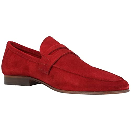 Mocasines para Hombre, Color Rojo, Marca Martinelli, Modelo Mocasines para Hombre Martinelli 1117 0926SYP Rojo: Amazon.es: Zapatos y complementos