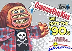 Wowzzer!! We are Proud to offer this Brand New 2019 Topps Garbage Pail Kids Series 1 WE HATE THE '90's EXCLUSIVE Factory Sealed Value Box! This EXCLUSIVE Factory Sealed Box contains (5) Packs of Garbage Pail Kids Sticker Cards and 8 Cards Per...