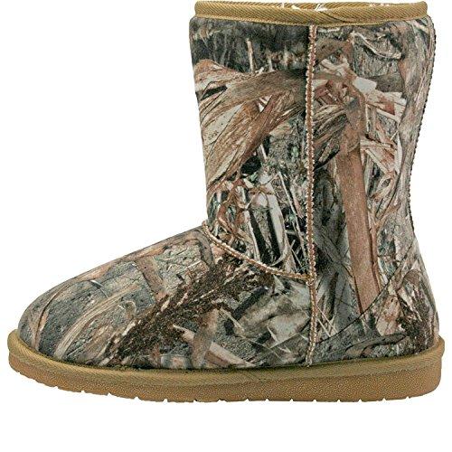 Dawgs Womens Mossy Oak 9-inch Aussie Boot Duck Blind