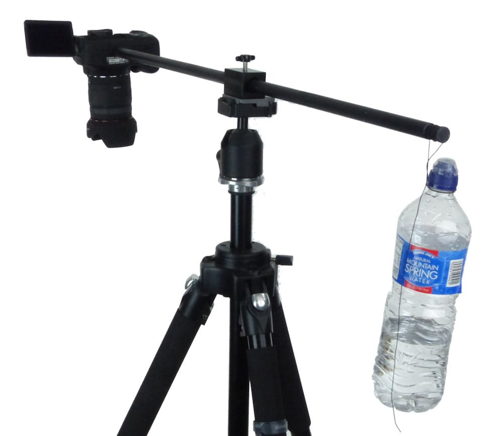 ALZO Horizontal Camera Mount, Black, Tripod Accessory, for Supporting a Camera for Overhead Product Photography