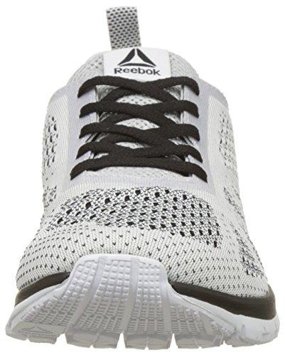 blanc Ultk Reebok Noir Print Pour Chaussures Blanc De Clip Course Smooth Homme tTxvTqwAH