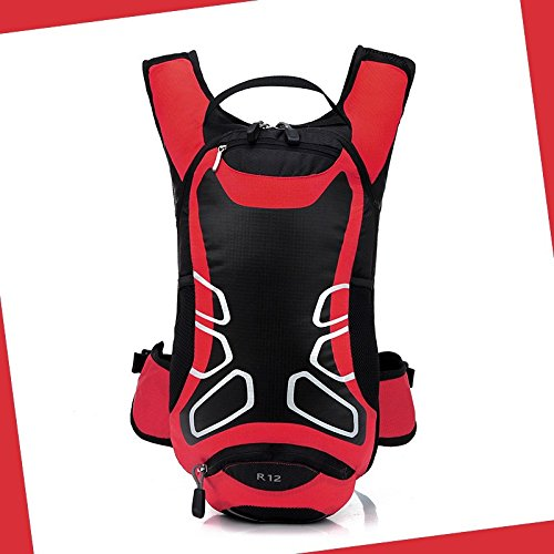 Hongrun Echte Doppel Schulter pack Bike Rucksack wasser Tasche Rucksack 12 L