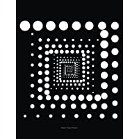 Black Paper Notes: Hypnotic Circles Black Pages Blank Notebook, Sketchbook, Diary: 7