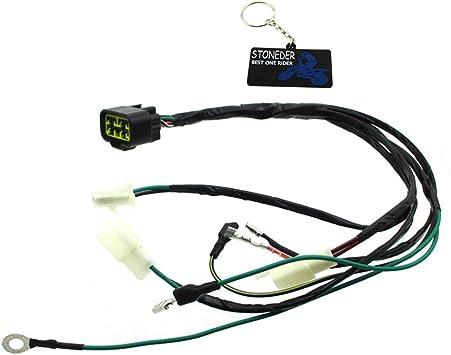 STONEDER Digital Wiring Loom Harness For Zongshen 125HO 140cc Z155 155cc Pit Dirt Bike