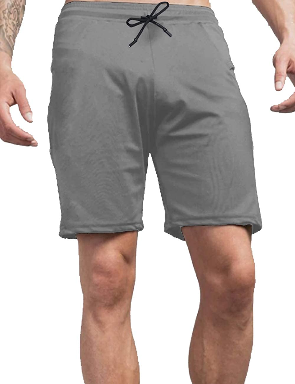 Men/'s Running Sports Shorts Breathable Moisture Wicking Gym Training Pants