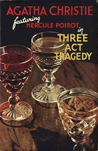 book cover of Three Act Tragedy