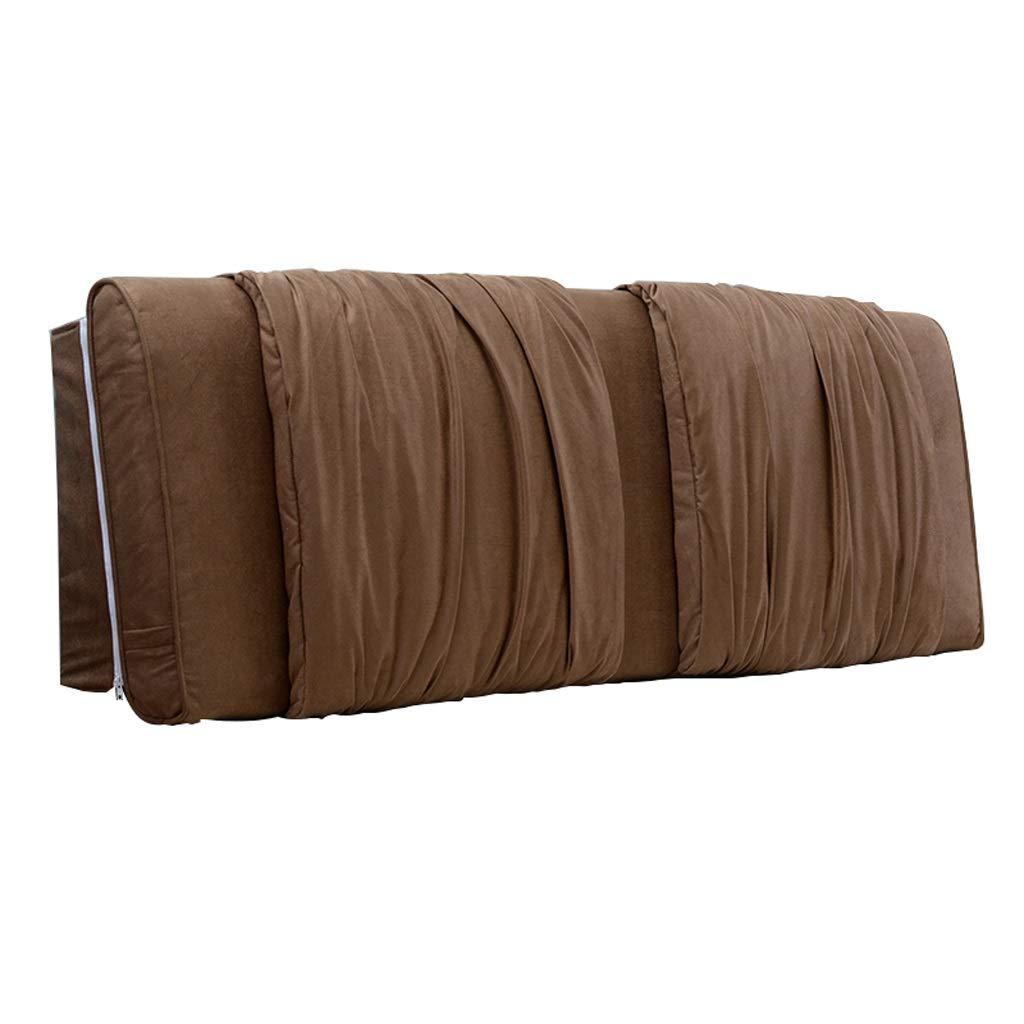 【驚きの値段】 GY ベッドバック 柔らかいクッション、 ダブル 150*58cm ソリッドウッド製ベッドカバー B07PFPNZKG サポート 腰ベルト 寝室 寝室 安静時読書枕 ダストカバー生地 洗える 4色、6サイズ (色 : Gray, サイズ さいず : 120*58cm) B07PFPNZKG 150*58cm|Brown Brown 150*58cm, 最安値:9235e922 --- fbrasil.com