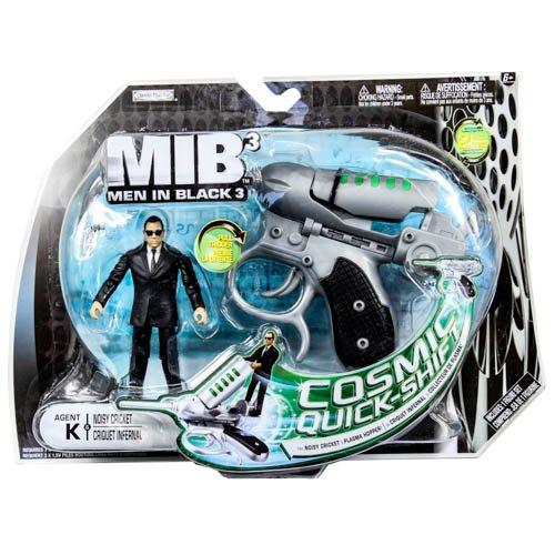 Men In Black 3 (MIB3) Basic Figure w/Large Accessory Pack: Agent K & Noisy - In Black Agent Men J 3