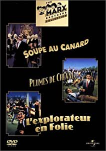 Coffret Marx brothers : soupe au canard / plume de cheval / l'explorateur en folie [Francia] [DVD]