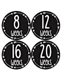 Pregnancy Gifts Baby Bump Belly Stickers Maternity Week Sticker Arrows (967)