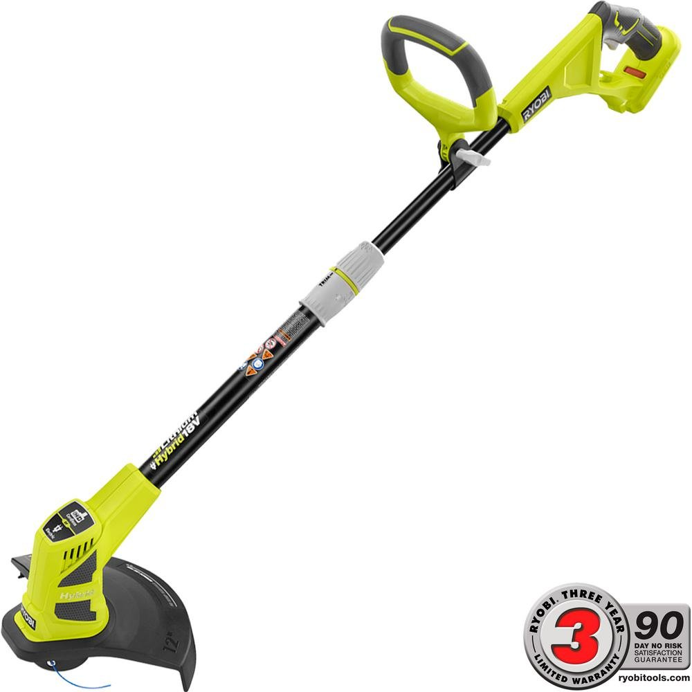 Ryobi ONE+ 18-Volt Lithium-ion Hybrid Electric Cordless String Trimmer/Edger - Battery and Charger Not Included by Ryobi (Image #1)