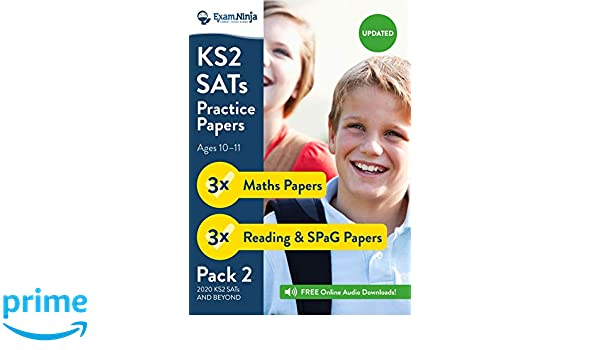 KS2 SATs Practice Papers - Pack 2 English Reading, SPaG ...