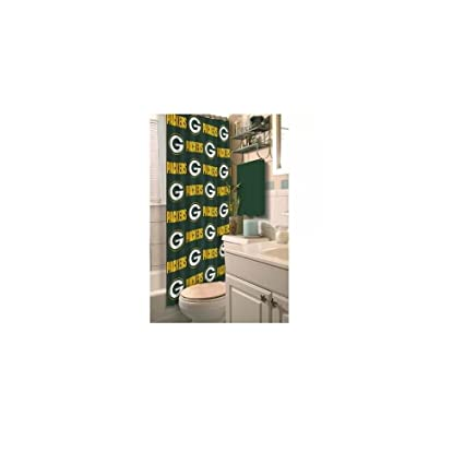 Amazon Green Bay Packers Decorative Bath Collection Shower