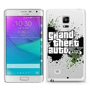 Best Sale Samsung Galaxy Note Edge Case Grand Theft Auto V White Fashionable Samsung Galaxy Note Edge Custom Case