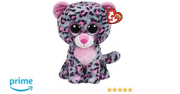 Ty - Tasha, Peluche Leopardo, 15 cm, Color Gris (36151TY): Amazon.es: Juguetes y juegos