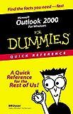 Microsoft Outlook 2000 for Windows for Dummies, Bill Dyszel, 076450472X
