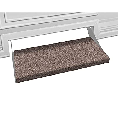 Prest-O-Fit 2-0351 Outrigger RV Step Rug Walnut Brown 23 In. Wide: Automotive