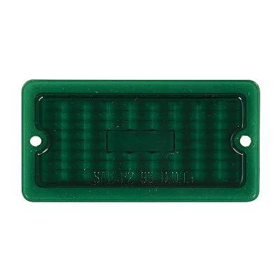 GG Grand General 80456 Green Plastic Lens for Rect. Marker Light: Automotive