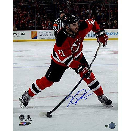 Kyle Palmieri Signed New Jersey Devils Slap Shot 16x20 Photo - Steiner Sports Certified - Autographed NHL Photos