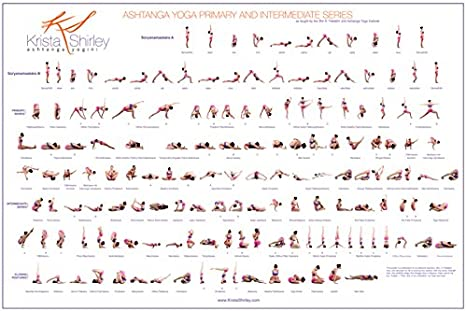 Ashtanga Yoga Poster Amazon Ca Home Kitchen