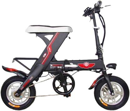 Hokaime Bicicleta eléctrica 12 Pulgadas Mini Bicicleta eléctrica ...
