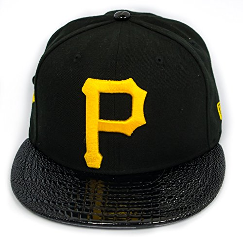 Pittsburgh Pirates- Custom Made Hat in Black - 11476107 (Custom Pirate Hat)