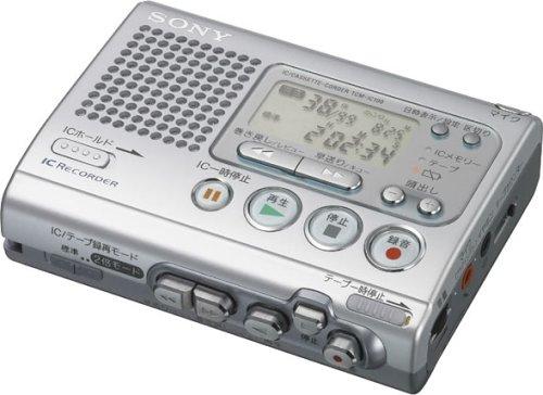 SONY ICレコーダー付きテレコ TCM-IC100 B0009IGD5O