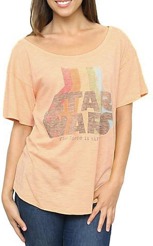 Junk Food Star Wars The Force Is Strong Slub Heartbreaker Juniors T-shirt