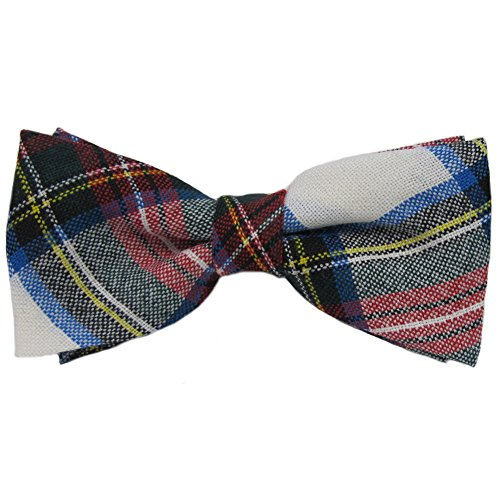 Mens Mens Stewart Dress Tartan Pre-Tied Bow - Dress Tartan Stewart