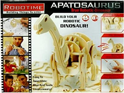 Robotime 3d Wooden Robotic Puzzle Rc Apatosaurus Large from Robotime