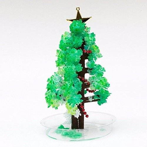Peoria Magic Crystal Growing Paper Tree Christmas Tree Novelty Toys Children's Gifts Magic - Peoria Kids