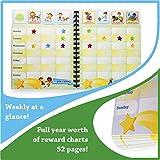 Chore Reward Chart System for Kids. Full Year