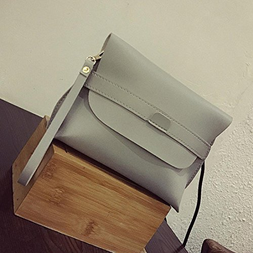 Straps Ladies Handbag Bag Women Daily With Removable Purse Paymenow Fashion Tote Gray Shoulder Purse q7nSxxHY