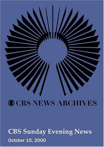 UPC 883629037233, CBS Sunday Evening News (October 15, 2000)