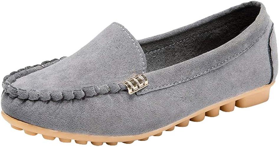 Women's Ladies Leisure Flat Shoes Slip
