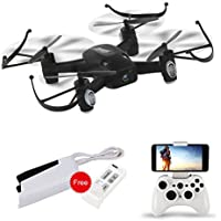 WiFi FPV Drone 720P Camera 3D Flip Altitude Hold & 1-Key Takeoff/Landing 2.4GHz 6Axis RC Quadcopter RTF L8Hw ¡­
