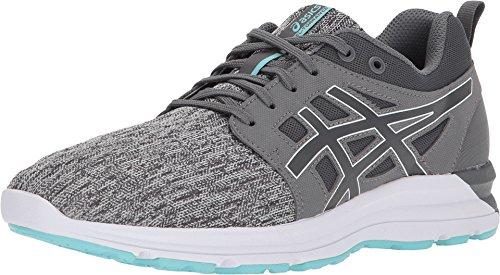 ASICS Women's Gel-Torrance Carbon/Carbon/Aruba Blue 7.5 B US (Best Pair Of Running Shoes)